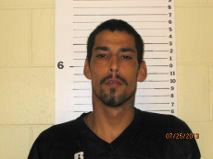 Name: Jesus Mendoza  Wanted For: Child Abuse, False Reporting, DUS  Alias:  Sex: Male  Race: Hispanic  Age: 32       DOB: 09/16/1983  Height: 6ft 3in   Weight: 160lbs  Hair: Black        Eyes: Brown