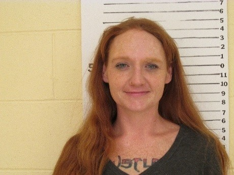 Name: Ginger G. Barnard  Wanted For: 3rd Degree Sexual Assault of a Child  Alias:  Sex: Female  Race: White  Age: 32 DOB: 09/16/1983  Height: 5ft 2in   Weight: 130lbs  Hair: Blue  Eyes: Auburn